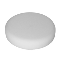 "Aero Revolution Foam 6"" Flat White Foam Pad Part # 8530"